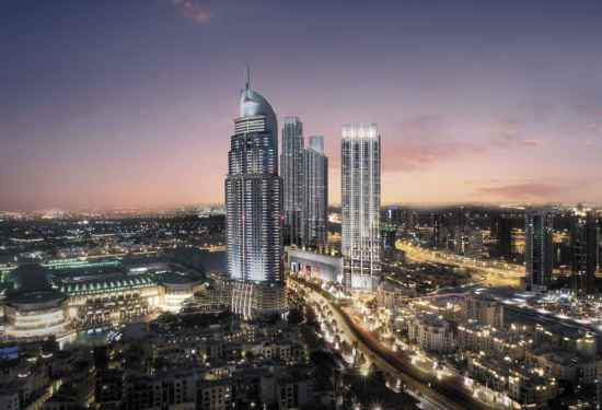 Luxury Property Dubai 1 Bedroom Apartment for sale in Boulevard Point Downtown Dubai1