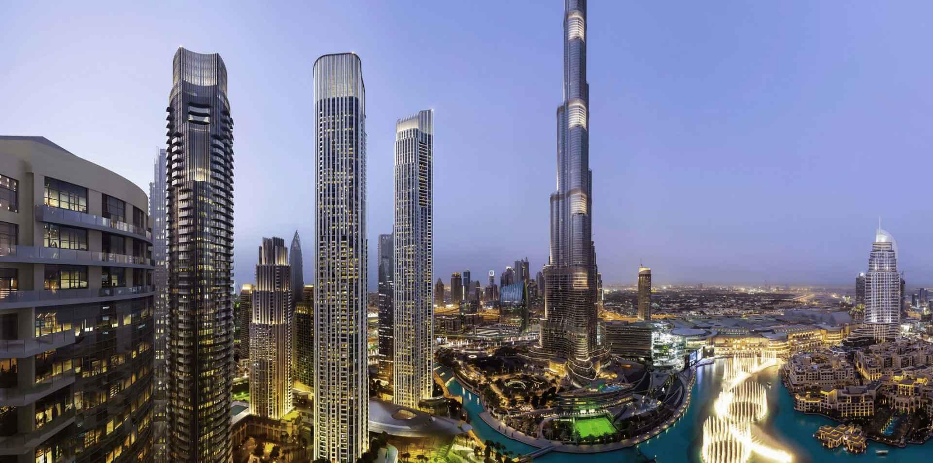 Luxury Property Dubai 4 Bedroom Penthouse for sale in IL Primo Downtown Dubai