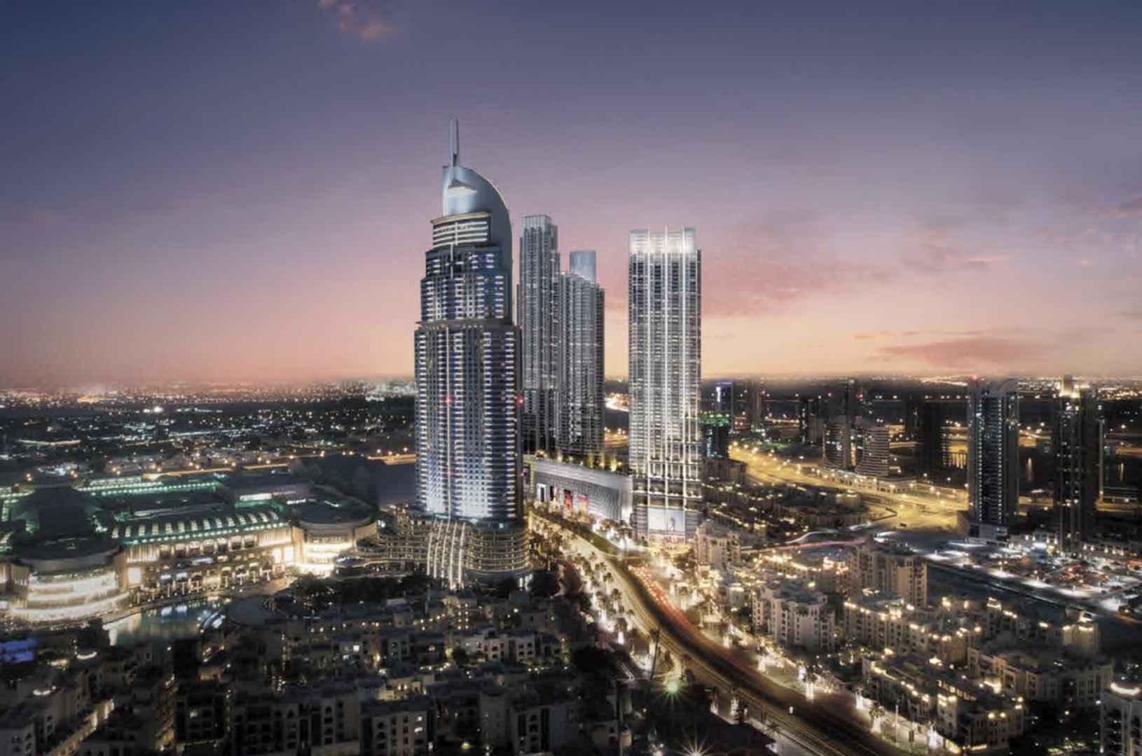 Luxury Property Dubai 3 Bedroom Apartment for sale in Boulevard Point Downtown Dubai